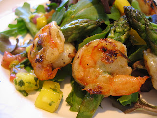 Asparagus Skewered Shrimp