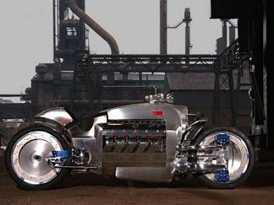 Sepeda motor tercepat didunia