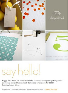 bluepoolroad stationery launch (peggy wong) | simple pretty