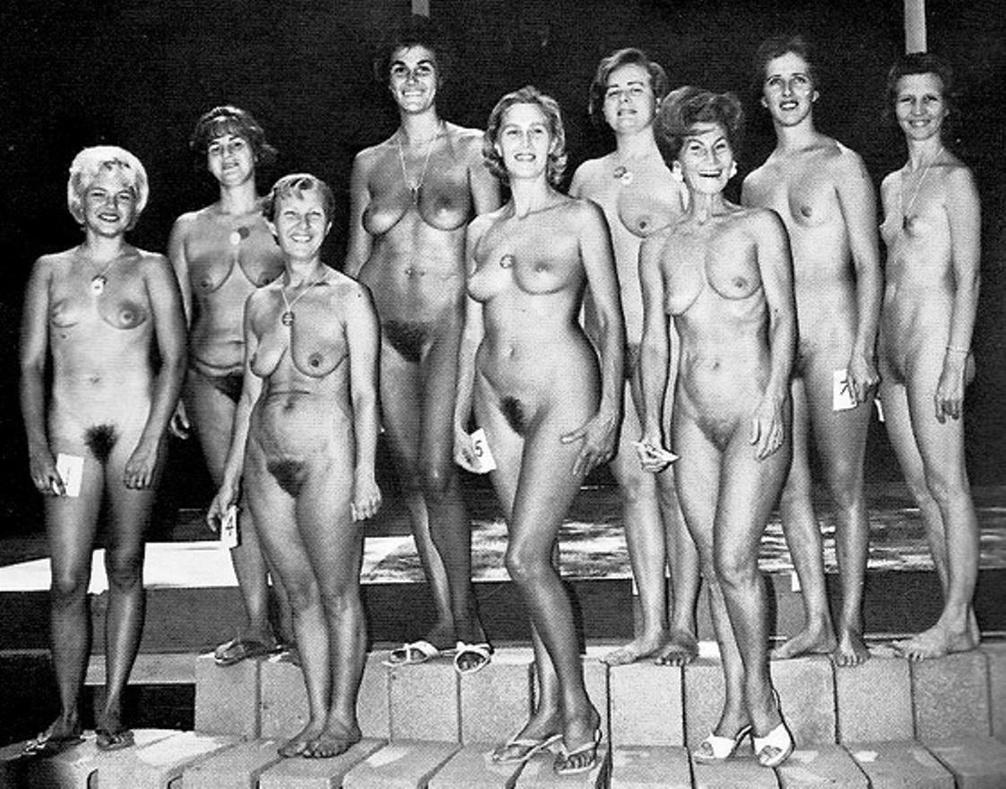 Young nudists pageant vintage