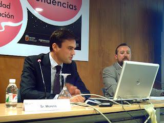 David Moreno en el SICARM