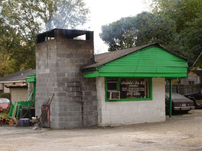 Our Tribute To The Best BBQ Shack in America: Archibald's Bar B.Q. (Northport, AL)