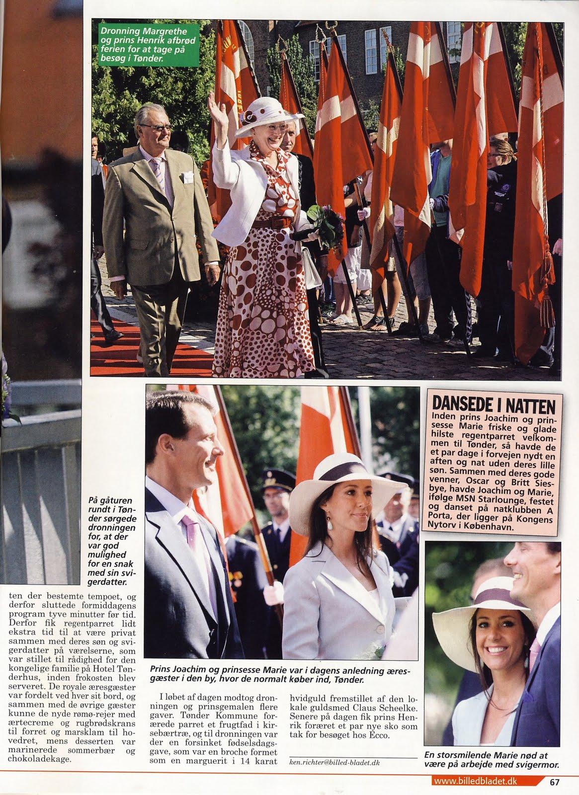 Danish Royal Media Watch Billed Bladet 30 2010