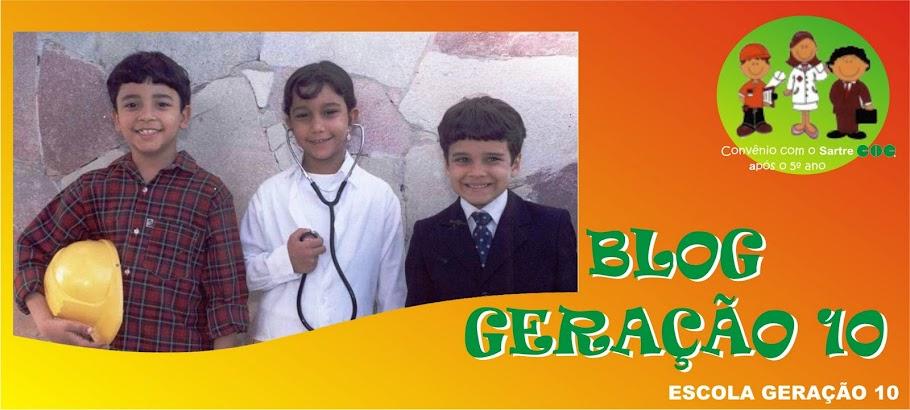 Blog Geração 10