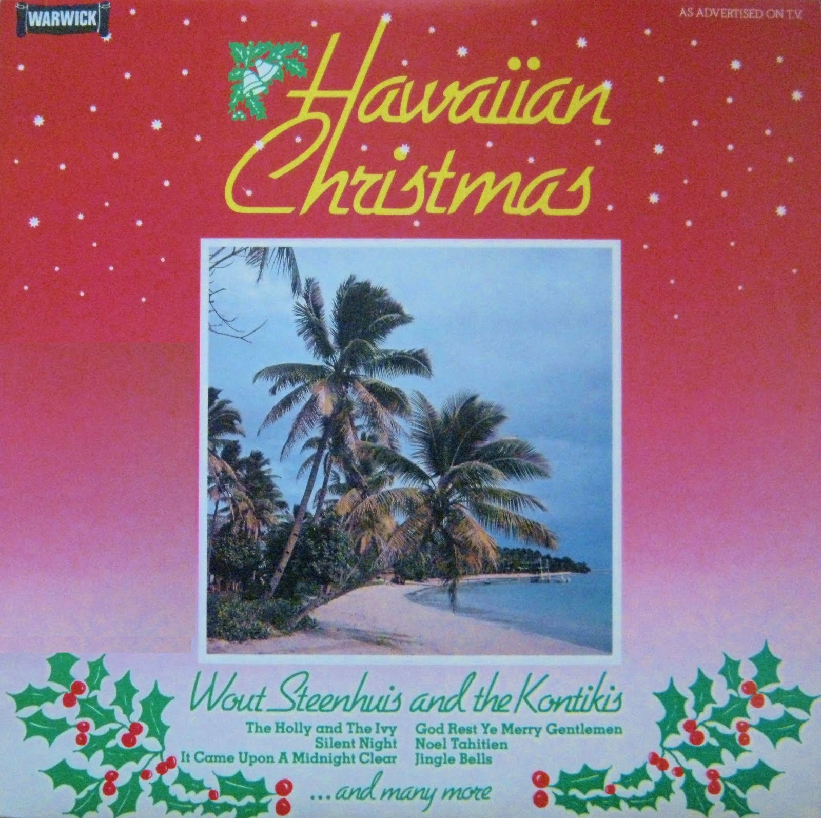 Easy Listening World Hawaiian Christmas Wout Steenhuis 1981