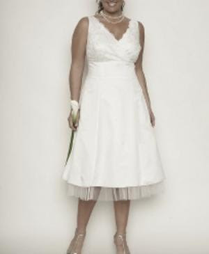 Wedding Dress Cheap on Wedding Dress    Plus Size Short Wedding Dresses