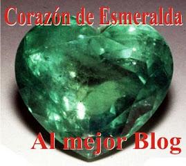 """Este blog tiene el premio """"Corazón de esmeralda"""""""