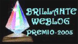 """Este blog tiene el premio """"Brillante"""""""