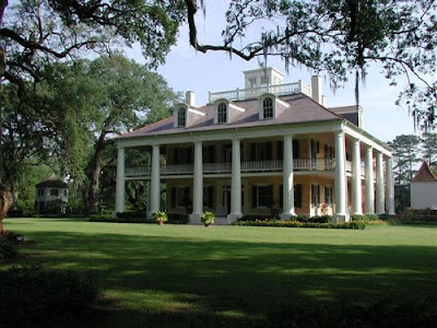 Plantation House Plans from Globalhouseplans.com