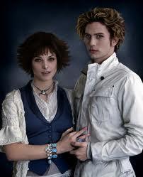 Ellos son Alice y Jasper mis tios