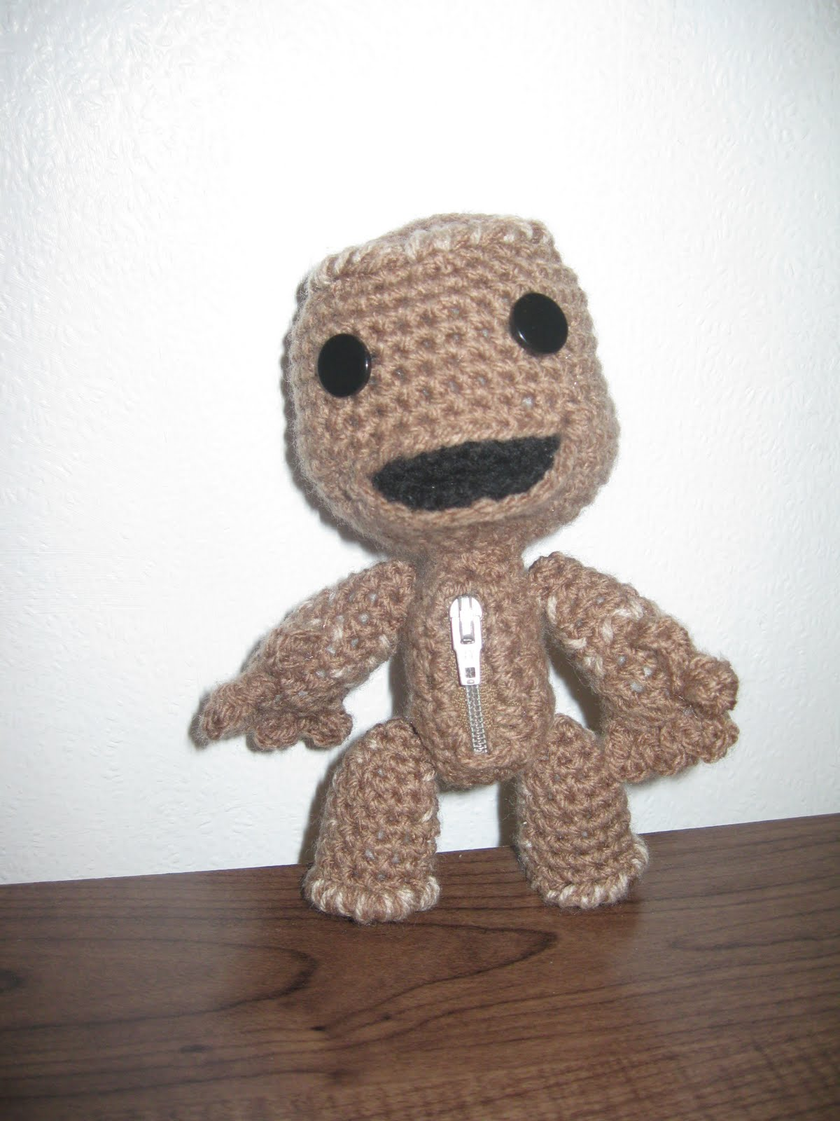 Miserable Monsters: Sackboy with pattern