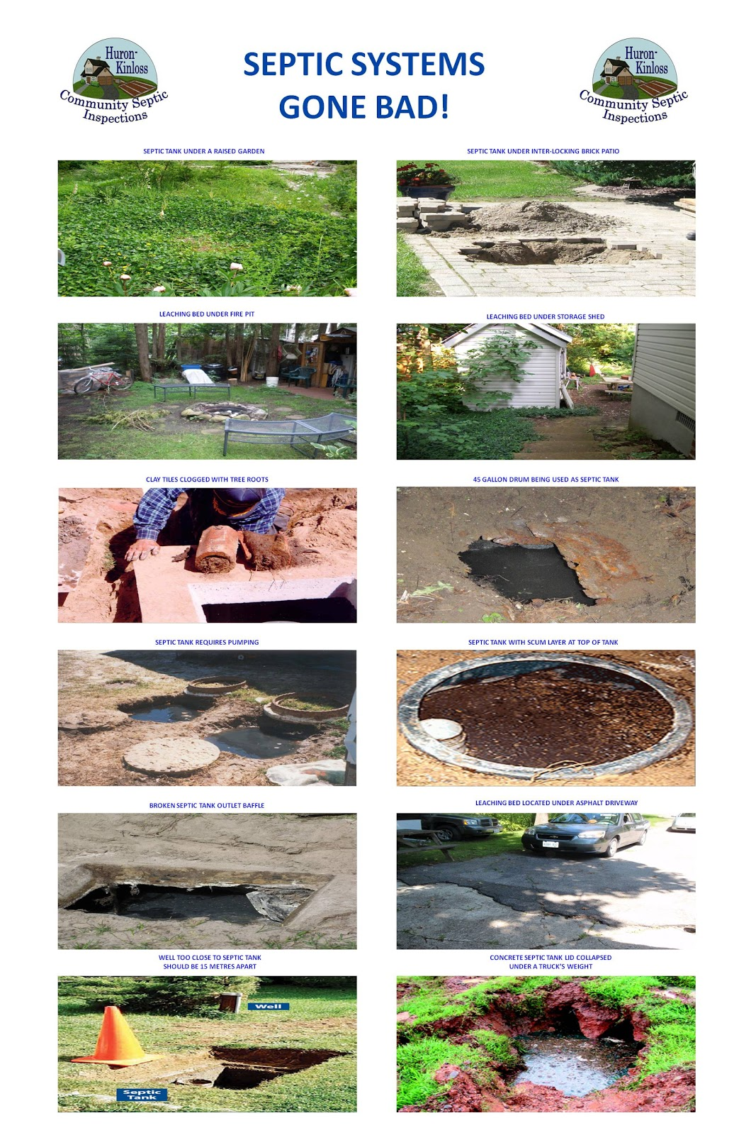 Huron-Kinloss Community Septic Inspections: Septic Systems Gone Bad!