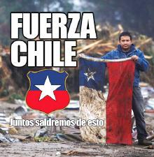 A TODOS MIS HERMANOS, PORQUE VAMOS CHILE QUE  SIEMPRE SE PUEDE!!