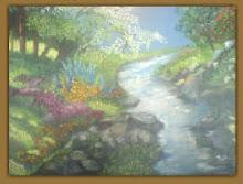 Una hermosa pintura de mi amiga Nancy VELASQUEZ - COSENZA