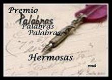 PREMIO PALABRAS HERMOSAS