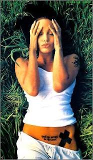 Tatuajes de Angelina