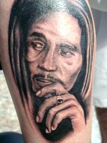 tatuajes para brazo. Excelentes trabajos de tatuajes de retratos, para disfrutar, 4 personajes