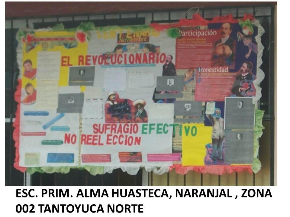 Supervisi n escolar zona 002 tantoyuca norte el peri dico for El periodico mural