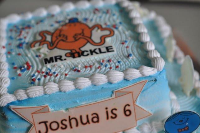 Birthday Cake For Men. Mr Tickle and Mr Men Birthday
