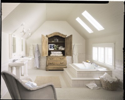 Bathroom Plans on Once Daily Chic  French Inspired Bathrooms