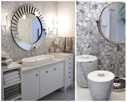Framed Bathroom Mirrors on Once Daily Chic  Sarah Richardson Where Have You Been All My Life