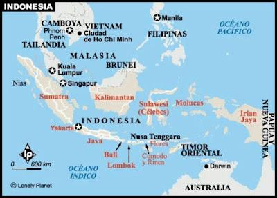 Indonsia Mapa Poltico
