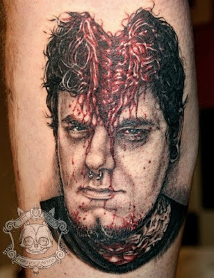 masterpiece cracked head tattoo designs · tattoo designs, zombie tattoo