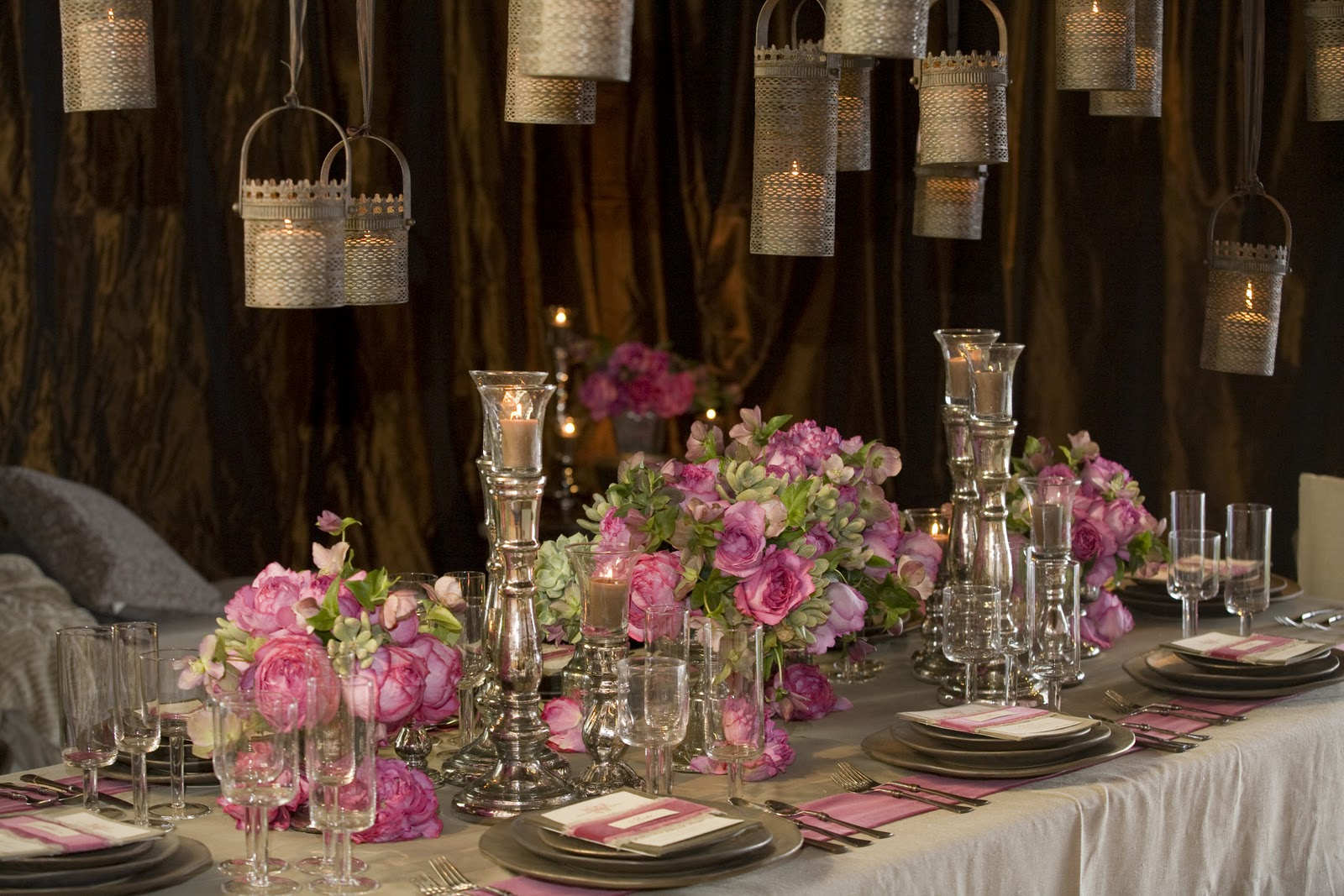 New Post on the Santa Barbara Wedding Blog today...Gorgeous Pink and ...