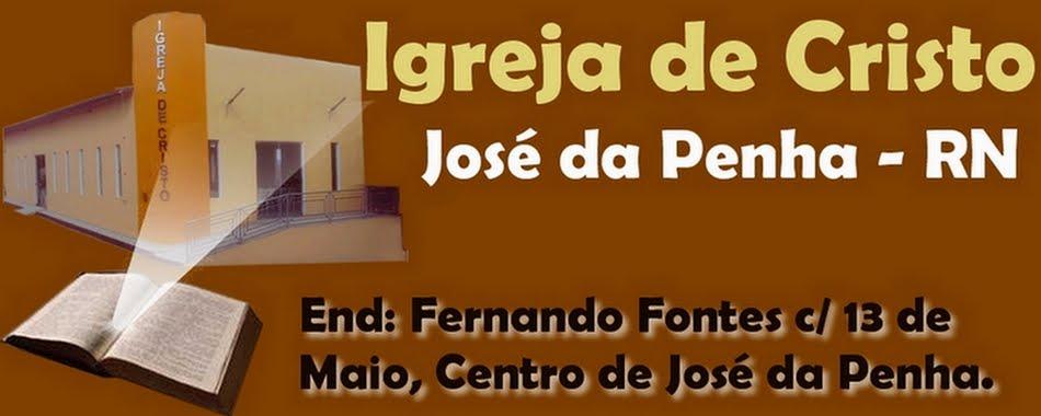 DOMÍNIO OFICIAL DA IGREJA DE CRISTO EM JOSÉ DA PENHA - RN.