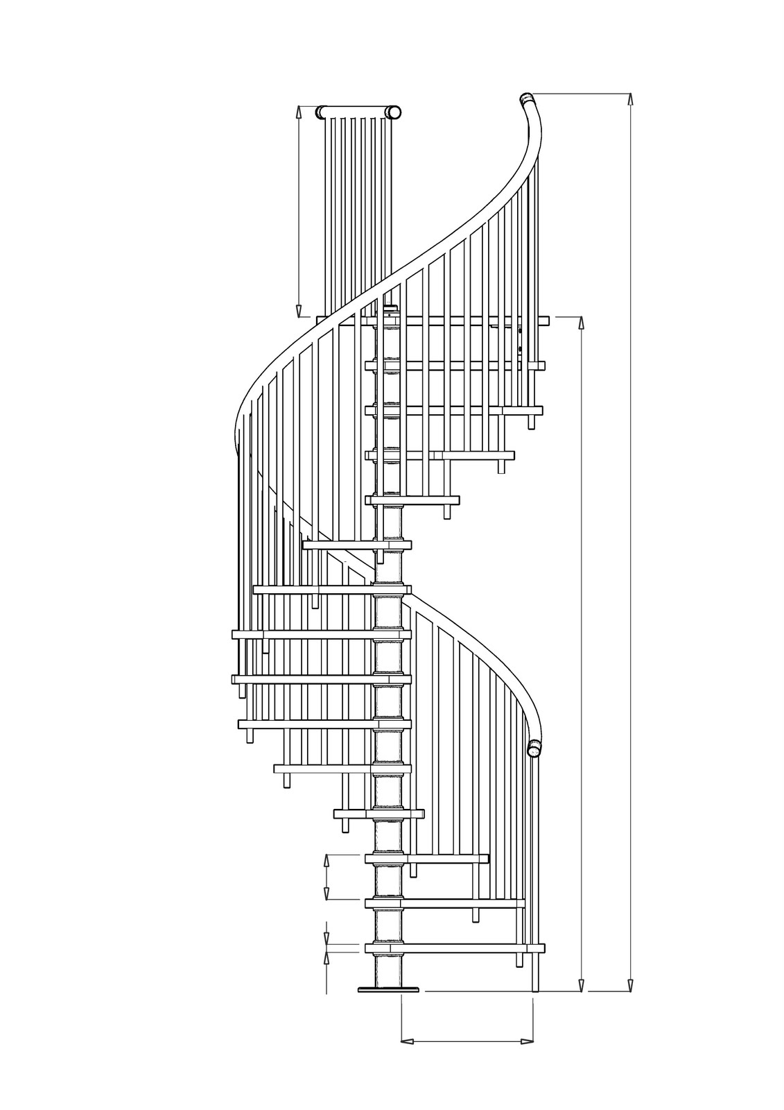 Ngel Nicol S Abril 2010 ~ Dimensiones Escalera De Caracol