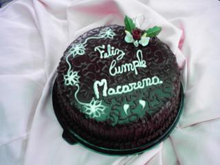 Chocolate menta para Macarena