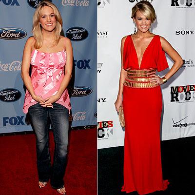 10 Transformasi para American Idol