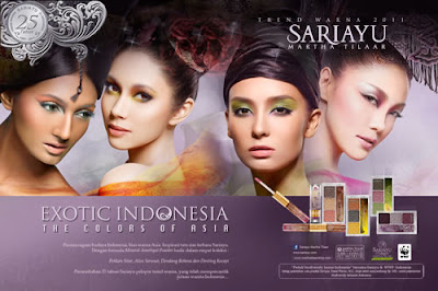 Exotic Indonesia  'The Colors of Asia' by Sariayu Martha Tilaar