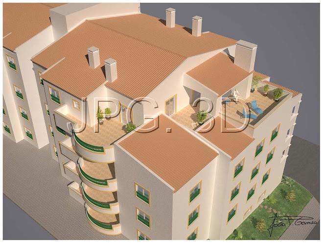 Edificio Habitacional, Urb. Parque do moinho, lote nº6 - Lagos - Março 2009- Apartamento para venda