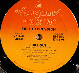 FREE EXPRESSION - Save The Last Dance For Me / Chill Out! (12
