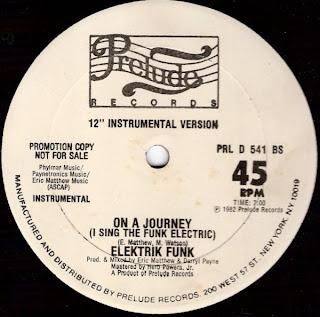 ELEKTRIK FUNK - On A Journey (I Sing The Funk Electric) (12