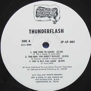 THUNDERFLASH - Taking 'Em By Storm (LP Jam Power Records 1982)