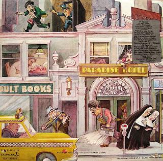 DIVA GREY & OYSTER - Hotel Paradise (LP Durium 1979)