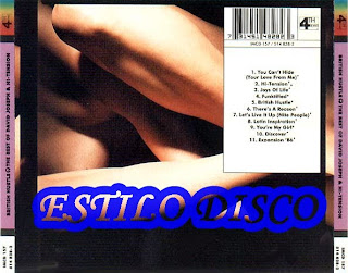 Cover Album of DAVID JOSEPH & HI-TENSION - British Hustle (The Best Of) (CD 4th & Broadway 1987)