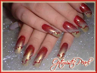 The Beauty of 3D Nail Art-2