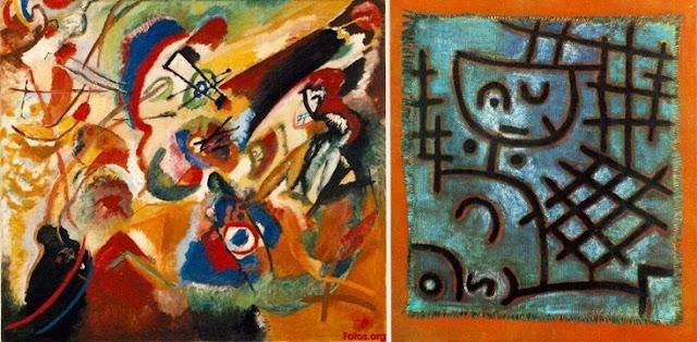 Wassily Kandinsky e Paul Klee entre os artistas degenerados