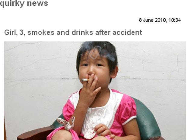 Deixar de fumar e começar nunca