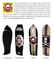 Godoy's Iron Cross Skateboards