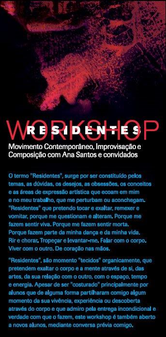 "Workshop ""RESIDENTES"""