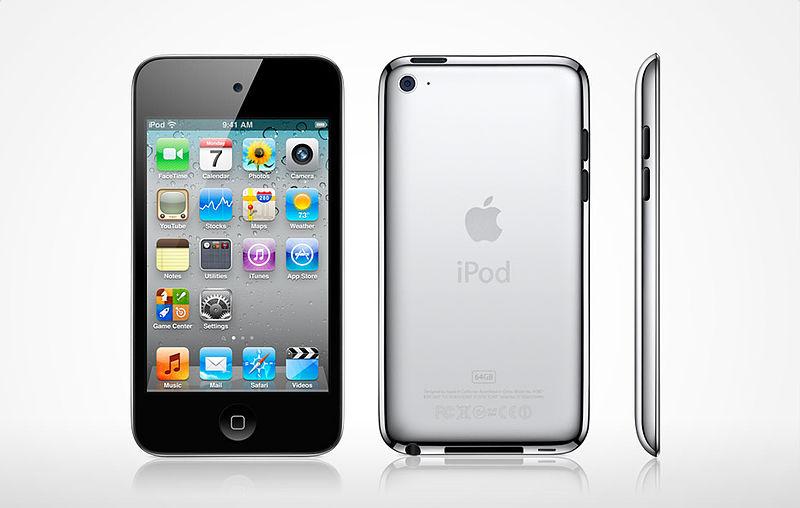 iPod Touch 4G, 8GB Black