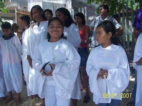 Batismo nas Àguas de Kalinda Vitória;Minha netinha