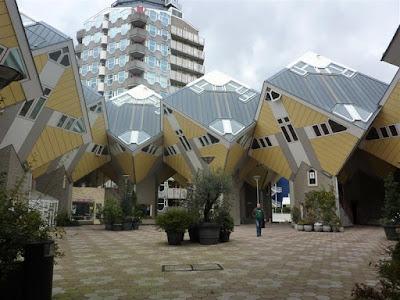 Kubuswoningen. Las Casas Cubo de Rotterdam