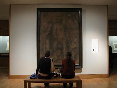 Epifania por Miguel Angel en el British Museum