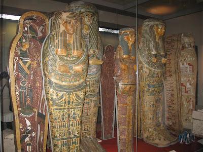 Momias egipcias en el British Museum