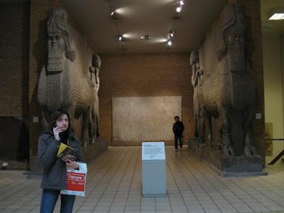 Leones del Palacio de Sargon en el British Museum
